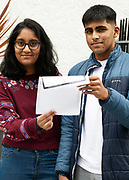 13/08/2019 Repro Free:  Max Points  for Adithi Gowda 625 and will do Medicine in NUI Galway  and Abhi Samhain from Ballybrit (555 hopes to do biomed) who received their Leaving Certificate Results from Yeats College in Galway City. Photo:Andrew Downes, xposure.