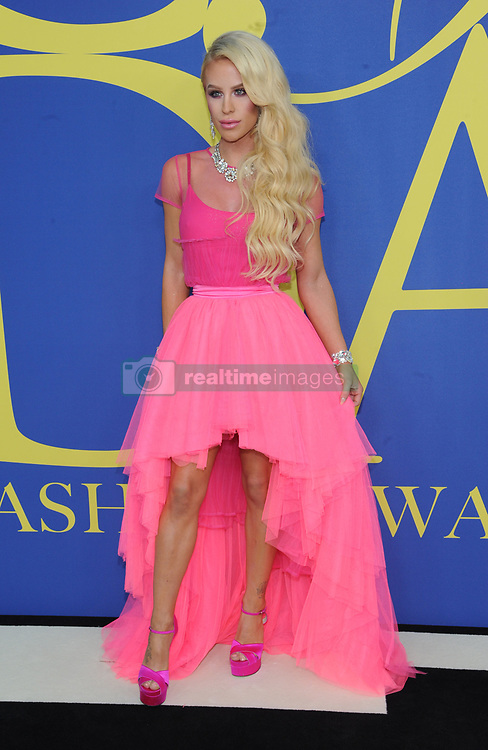 BROOKLYN, NY - JUNE 4: Sarah Paulson at the 2018 CFDA Fashion Awards at the Brooklyn Museum in New York City on June 4, 2018. 04 Jun 2018 Pictured: Gigi Gorgeous. Photo credit: JP/MPI/Capital Pictures / MEGA TheMegaAgency.com +1 888 505 6342