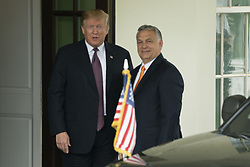 May 13, 2019 - Washington, District of Columbia, United States - President DONALD TRUMP welcomes Hungarian Prime Minister VIKTOR ORBAN to the White House, May 13, 2019 (Credit Image: © Douglas Christian/ZUMA Wire)