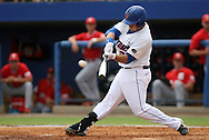 09 June 2012: Florida's Preston Tucker. The University of Florida Gators defeated the North Carolina State University Wolfpack 7-1 at Alfred A. McKethan Stadum in Gainesville, Florida in Game 1 of their NCAA College Baseball Super Regional series.