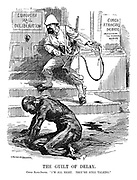 """The Guilt of Delay. Congo Slave-driver. """"I'm all right. They're still talking."""""""