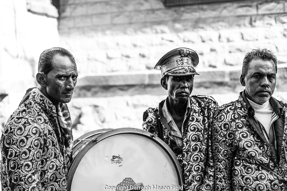 Baraat band during Rama Navami
