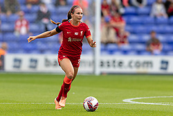BIRKENHEAD, ENGLAND - Sunday, August 29, 2021: Liverpool's Leighanne Robe during the FA Women's Championship game between Liverpool FC Women and London City Lionesses FC at Prenton Park. London City won 1-0. (Pic by Paul Currie/Propaganda)