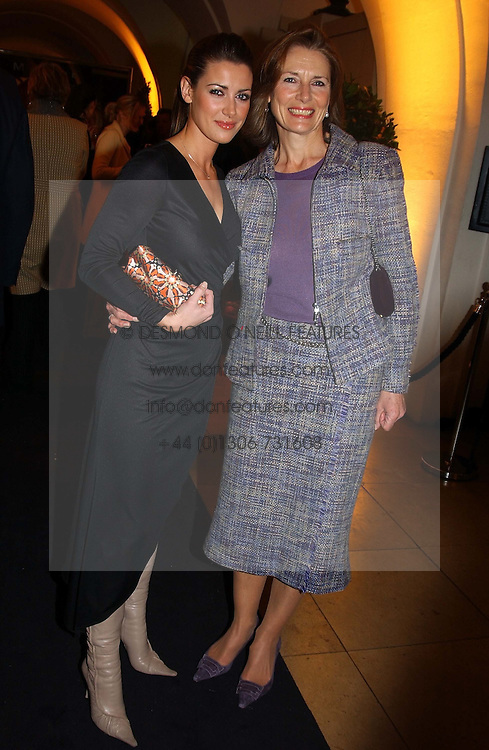 Left to right, tv presenter KIRSTY GALLACHER andher mother LESLEY GALLACHER<br /><br />at a party to celebrate the 10th anniversary of Jo Malone the perfumer held at The Banquetting House, Whitehall, London on 21st October 2004.<br /><br /><br /><br />NON EXCLUSIVE - WORLD RIGHTS