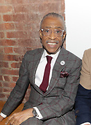 """NEW YORK, NEW YORK-FEBRUARY 13: Rev. Al Sharpton attends """" CAPTURED"""" the Fall/Winter Collection 2019 presented by Designer Aisha McShaw during New York Fashion Week and held at the Gallery at Prince George Ballroom on February 11, 2019 in New York City.  (Photo by Terrence Jennings/terrencejennings.com)"""