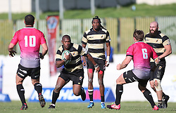 Wayne Wilschut of Boland on the attack during the Currie Cup premier division match between the Boland Cavaliers and The Pumas held at Boland Stadium, Wellington, South Africa on the 2nd September 2016<br /> <br /> Photo by:   Shaun Roy/ Real Time Images