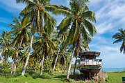 Iona Tapu Church, 1821, Aitutaki, Cook Islands, South Pacific