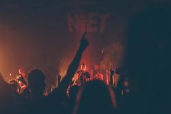 Punk band Niet performs during presentation of their new album in Bazen, Kranj, Slovenia. Photo by Grega Valancic / Sportida