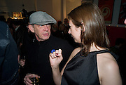 NATHAN OSGOOD; NICOLA HOLLINSHEAD, The Actors Centre's 30th Birthday Party. 1a Tower St, Covent Garden. London. 2nd November<br />
