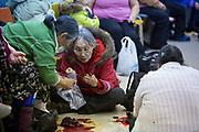 Charlotte Crosby TLC Travel show. the Community feast in Igloolik