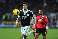 Southampton's Jose Fonte (6) .Barclays Premier league, Cardiff city v Southampton at the Cardiff city Stadium in Cardiff,  South Wales on Boxing day, Thursday 26th Dec 2013. <br /> pic by Andrew Orchard, Andrew Orchard sports photography.