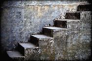 Patina stairs