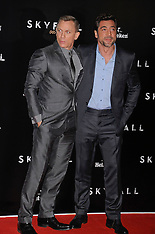OCT 29 2012 Premiere of Skyfall in Madrid