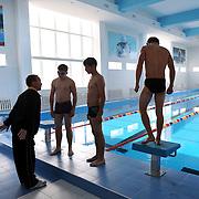 Swimming training , School , Astana , Kazakhstan