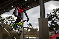 #78 (WHYTE Tre) GBR at the 2018 UCI BMX Superscross World Cup in Saint-Quentin-En-Yvelines, France.