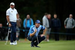 Padraig Harrington during day two of the British Masters at Walton Heath Golf Club, Surrey.