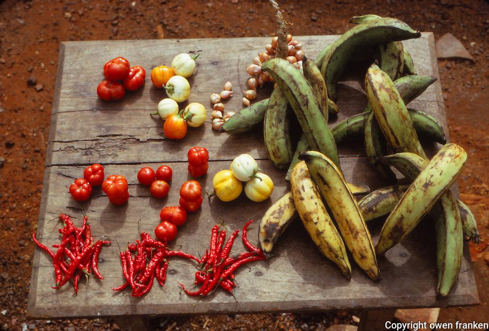 rural market, Ghana, West Africa
