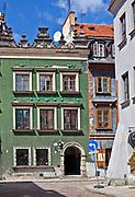 Kamienica pod Chrystusem, Stare Miasto w Warszawie, Polska<br /> Townhouse near Christ, Old Town, Warsaw, Poland