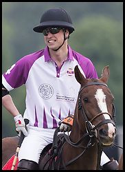 May 25, 2018 - Cirencester, United Kingdom - Image licensed to i-Images Picture Agency. 25/05/2018. Cirencester , United Kingdom. The Duke of Cambridge taking part in the  Jerudong Trophy charity polo match at Cirencester Park Polo Club, Gloucestershire, United Kingdom. (Credit Image: © Stephen Lock/i-Images via ZUMA Press)