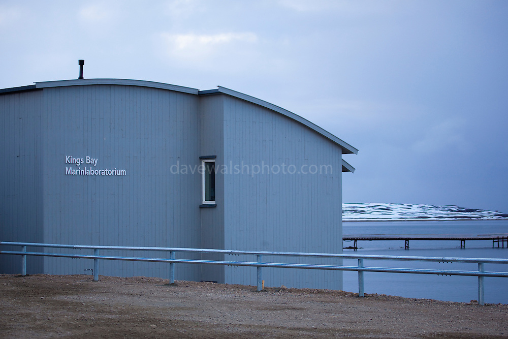 Kings Bay Marine Laboratory is the northernmost laboratory in the world, in the scientific research base of Ny Alesund, Svalbard