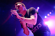 Photos of the band Say Anything performing at the Pageant in St. Louis on October 26, 2010