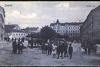 Zagreb : Ilički trg. <br /> <br /> Impresum[S. l. : S. n., 1911].<br /> Materijalni opis1 razglednica : tisak ; 8,8 x 13,9 cm.<br /> Vrstavizualna građa • razglednice<br /> ZbirkaZbirka razglednica • Grafička zbirka NSK<br /> Formatimage/jpeg<br /> PredmetZagreb –– Britanski trg<br /> SignaturaRZG-BRIT-1<br /> Obuhvat(vremenski)20. stoljeće<br /> NapomenaRazglednica je putovala 1911. godine.<br /> PravaJavno dobro<br /> Identifikatori000952435<br /> NBN.HRNBN: urn:nbn:hr:238:927304 <br /> <br /> Izvor: Digitalne zbirke Nacionalne i sveučilišne knjižnice u Zagrebu