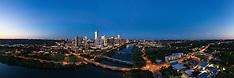 Austin Skyline Study 3 x 7
