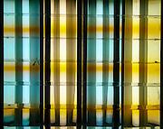 Fluorescent lights reflection
