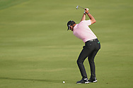 Lucas Herbert (AUS) in action during the second round of the Omega Dubai Desert Classic, Emirates Golf Club, Dubai, UAE. 25/01/2019<br /> Picture: Golffile | Phil Inglis<br /> <br /> <br /> All photo usage must carry mandatory copyright credit (© Golffile | Phil Inglis)