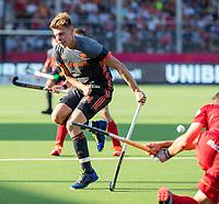 ANTWERPEN - Jelle Galema (Ned)    tijdens  halve finale  mannen, Nederland-Spanje (3-4) ,  bij het Europees kampioenschap hockey.  COPYRIGHT KOEN SUYK