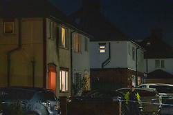 © Licensed to London News Pictures. 02/11/2020. Maidenhead, UK. The house that came under attack on Moor Lane with blackened exterior. A house has been 'petrol-bombed' on Moor Lane in Maidenhead, an altercation took place on the roadside before what is believed to be a petrol-bomb was throw at the house causing exterior damage. Photo credit: Peter Manning/LNP