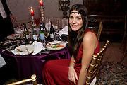 MARGHERITA MISSONI, Francesca Bortolotto Possati, Alessandro and Olimpia host Carnevale 2009. Venetian Red Passion. Palazzo Mocenigo. Venice. February 14 2009.  *** Local Caption *** -DO NOT ARCHIVE -Copyright Photograph by Dafydd Jones. 248 Clapham Rd. London SW9 0PZ. Tel 0207 820 0771. www.dafjones.com<br /> MARGHERITA MISSONI, Francesca Bortolotto Possati, Alessandro and Olimpia host Carnevale 2009. Venetian Red Passion. Palazzo Mocenigo. Venice. February 14 2009.