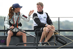 Britain's Catherine, Duchess of Cambridge and her crew competing on behalf of The Royal Foundation in the inaugural King's Cup regatta hosted by the Duke and Duchess of Cambridge on August 08, 2019 in Cowes, England. MD/Express Syndication NO UK SALES FOR 28 DAYS. NO GETTY SALES. 08 Aug 2019 Pictured: Britain's Catherine, Duchess of Cambridge and her crew competing on behalf of The Royal Foundation in the inaugural King's Cup regatta hosted by the Duke and Duchess of Cambridge on August 08, 2019 in Cowes, England. MD/Express Syndication NO UK SALES FOR 28 DAYS. NO GETTY SALES. Photo credit: Express Syndication / MEGA TheMegaAgency.com +1 888 505 6342