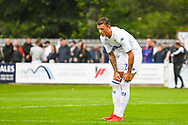 Leeds United Ben White (26) reacts during the Pre-Season Friendly match between Tadcaster Albion and Leeds United at i2i Stadium, Tadcaster, United Kingdom on 17 July 2019.