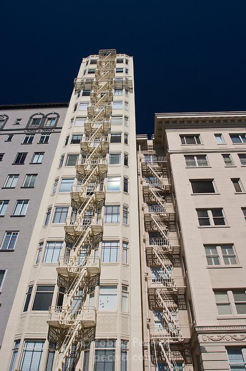 Tall, narrow residential building in San Francisco, California.