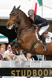 Bijlsma Maaike (NED) - Vedor<br /> World Championship Young Horses Lanaken 2008<br /> Photo Copyright Hippo Foto