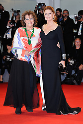 Claudia Cardinale and Susan Sarandon attending The Leisure Seeker Premiere during the 74th Venice International Film Festival (Mostra di Venezia) at the Lido, Venice, Italy on September 03, 2017. Photo by Aurore Marechal/ABACAPRESS.COM