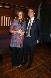BEN & KATE GOLDSMITH at a party to celebrate the publication of 'E is for Eating' by Tom Parker Bowles held at Kensington Place, 201 Kensington Church Street, London W8 on 3rd November 2004.<br /><br />NON EXCLUSIVE - WORLD RIGHTS