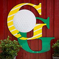 OUDEMIRDUM - Logo . Golfclub Gaasterland ligt in Zuidwest-Friesland en heeft een schitterende 9 holes natuurbaan. COPYRIGHT KOEN SUYK