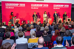 © Licensed to London News Pictures. 01/02/2020. Bristol, UK. Labour Party Leadership Hustings, at Ashton Gate Stadium. Candidates: Emily Thornberry, Lisa Nandy, Kier Starmer, Rebecca Long-Bailey,Photo credit: Simon Chapman/LNP.