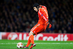 Petr Čech of Chelsea during football match between Chelsea FC and NK Maribor, SLO in Group G of Group Stage of UEFA Champions League 2014/15, on October 21, 2014 in Stamford Bridge Stadium, London, Great Britain. Photo by Vid Ponikvar / Sportida.com