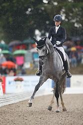 Buchwald Beatrice, (GER), DSP Belantis<br /> First Qualifier 6 years old horses<br /> World Championship Young Dressage Horses - Verden 2015<br /> © Hippo Foto - Dirk Caremans<br /> 07/08/15