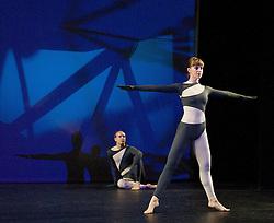 Nearly Ninety<br /> The Merce Cunningham Dance Company <br /> choreography by Merce Cunningham<br /> at The Barbican Theatre, London, Great Britain <br /> rehesrsal <br /> 26th October 2010 <br /> <br /> <br /> John Hinrichs<br /> <br /> <br /> Jamie Scott <br /> <br /> <br /> Photograph by Elliott Franks<br /> 2010©Elliott Franks