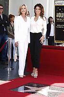 6/2/2011 Bo Derek joins Shania Twain during Shania's Hollywood Walk of Fame ceremony.
