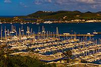 Yacht harbor, Port Moselle, Noumea, Grand Terre, New Caledonia