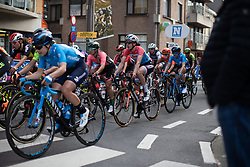 Christine Majerus (LUX) of Boels-Dolmans Cycling Team rides through De Panne for the first time during the AG Driedaagse Brugge-De Panne - a 134.4 km road race, between Brugge and De Panne on April 21, 2018, in West Flanders, Belgium. (Photo by Balint Hamvas/Velofocus.com)