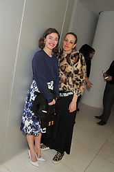 Left to right, CAMILLA RUTHERFORD and BAY GARNETT at the Rodial Beautiful Awards 2013 held at St Martin's Lane Hotel, St.Martin's Lane, London on 19th March 2013.