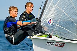 49er, <br /> <br /> , Kieler Woche 05. - 13.09.2020, 49er - GER 36 - Ben HEINRICH - Tobias MATERN - Kieler Yacht-Club e. V