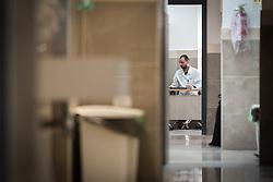 24 February 2020, Jerusalem: Dr Emad Hammad serves as Medical House Officer at Augusta Victoria Hospital.