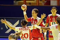 03.12.2008 Ohrid (FYR Macedonia)<br />Norway-Spain European women's handball championship<br />Lunde Kristine(c) Norway <br />Foto:Aleksandar Djorovic